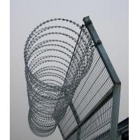 Wholesale Fencing Concertina Razor Barbed Wire Security Galvanized Steel from china suppliers