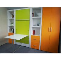 Wholesale Vertical Open Single Murphy Wall Bed Space Saving Hidden Wall Bed from china suppliers