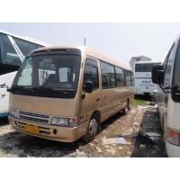 Wholesale Used Toyota coaster bus diesel good condition second hand mini bus for cheap sale from china suppliers