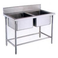Wholesale OEM  Deep Double sink stainless steel wash basin for kitchen from china suppliers