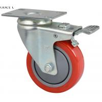 Wholesale Extra Heavy Duty Industrial Polyurethane Caster Wheels Red Color For MIMA Forklift from china suppliers