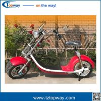 Wholesale Alibaba Gold supplier Trade Assurance citycoco scooter City CoCo harley 1000W from china suppliers