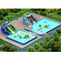 Strong PVC Square Swimming Pool For Water Park / Advertisement / Clubs