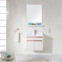 Buy cheap Bathroom Cabinets With Towel Hanger Washing Basin Set from wholesalers