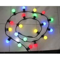Wholesale Holiday lighting E27, IP44 lamp cable,500 mm spacing, 50 m per piece Led decorative lighting from china suppliers