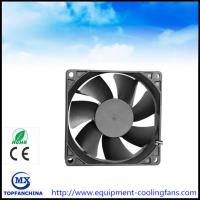 Wholesale 48V DC 92MM Brushless Fan , 4000rmp Commercial Compact Desktop Cooling Fan CE ROHS from china suppliers