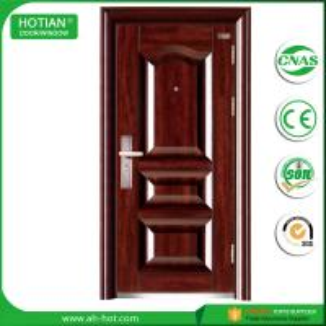 Wholesale New designs main gate stainless steel door design supplier metal door entrance door with CE certificate from china suppliers