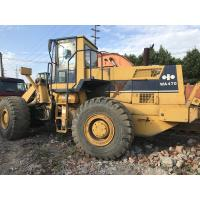 Buy cheap Original paint Used KOMATSU WA470-1 Wheel Loader S/N 21099 Made in japan from wholesalers