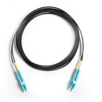 Wholesale Drop Cable Corning Optical Fiber Patch Cord LC/UPC To LC/UPC OM3 50/125 Duplex 3Mtrs LSZH from china suppliers