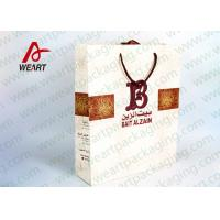 Wholesale B LOGO Priting Funny Christmas Paper Bags For Gift 42 X 15 X 25cm Size from china suppliers
