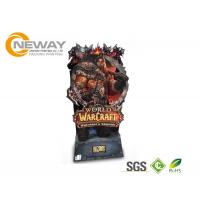 Wholesale Recycled Cardboard Display Stands , Free Standing Display For Toy Advertising from china suppliers