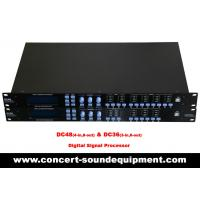 Quality Concert Sound Equipment / 4 input , 8 ouput Digital Signal Processor For Line Array Speaker System for sale