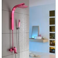 Wholesale Luxury Wall Mount Antique Rainfall Shower Set Space aluminum from china suppliers