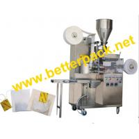 Wholesale tea-bags packaging machinery with thread and tag from china suppliers