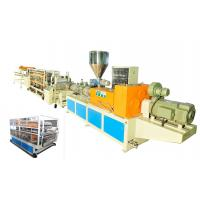 Wholesale Waterproof PVC Plastic Roofing Tiles Extrusion Line Single Layer Heat Insulation from china suppliers