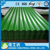 Wholesale SGCC,DX51D,JIS,ASTM/Zinc 33% Corrugated metal Sheet / Zinc Aluminum Metal Roofing Panels from china suppliers