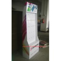 Wholesale Iphone Accessories Cardboard Retail Displays Customzied Pegboard Display Racks from china suppliers