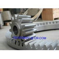Wholesale Forging Straight Bevel Gear Of Reduction Box , Casting Segment Bevel Gears from china suppliers
