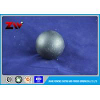 Wholesale HRC 60-68 casted and forged steel ball mill grinding media , 20mm - 150mm from china suppliers