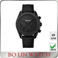 Wholesale Stainless Steel Sports Watch leather strap black case oem 5atm from china suppliers