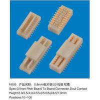 Wholesale 0.8MM Pitch Female Plug Board Connector To Computer Motherboard Notebook 100 Pins from china suppliers