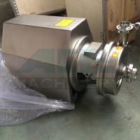 Wholesale SS304 316 Sanitary food grade Centrifugal transfer pump  1.5hp food grade clean water pump from china suppliers
