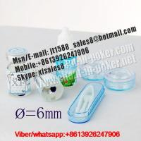 Buy cheap 2015 XF 6MM UV contact lenses|invisible ink|perspective glasses|poker cheat|cheat in gamble|cards cheat from wholesalers