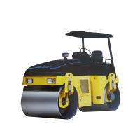 Quality Three Speed Mini Road Roller Walk Behind Compactor Skid Steer Vibratory Roller for sale