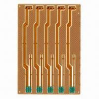 Wholesale Rigid-flex Board with 0.3mm Diameter and ENIG Surface Finish from china suppliers