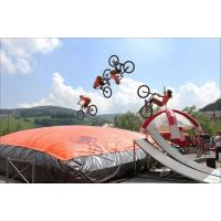 Wholesale Comercial Inflatable Jumping Toys Inflatable Air Bag For Bike Sport Game from china suppliers