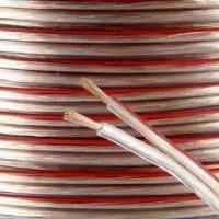 Wholesale Transparent speaker cable, available in various colors from china suppliers