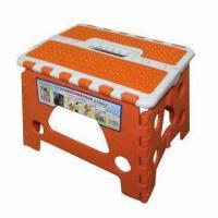 Wholesale Plastic folding stool, lightweight and easy to carry from china suppliers