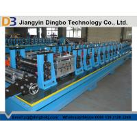 Buy cheap Hydraulic Post Cutting Solar Supports Roll Forming Machine With Panasonic PLC from wholesalers