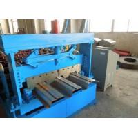 Wholesale 1219 mm Width Metal Floor Deck Roll Forming Machine with Automatic Hydraulic Cutter from china suppliers