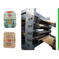 Wholesale 4 Color Printing Cement Paper Bag Making Machine For Chemical Bag from china suppliers