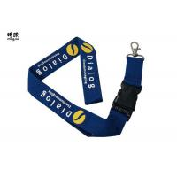 Wholesale Custom Design Safety Breakaway Id Lanyard For Women , Pretty Visitors Badges Lanyards from china suppliers