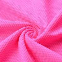 Athletic Polyester Sports Mesh Fabric Honeycomb Quick Drying Light Resistance