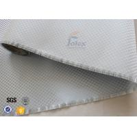 Wholesale Aluminized Plated Fiber Glass Cloth Decoration Silver Coated Fiberglass Fabric from china suppliers