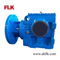 Wholesale S series helical worm gear reducer motor/electric motor reduction gearbox from china suppliers