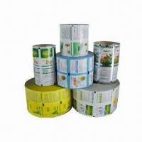 Wholesale Laminated Plastic Packing Rolls with Vivid Color Printing, Used on Automatic Packing Machine from china suppliers