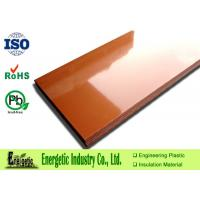 Wholesale 3.0mm to 100mm Phenolic Plastic Sheets / Plate with Natural Orange from china suppliers