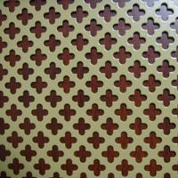 Quality decorative pattern perforated metal sheet  / round hole perforated ceiling panels for sale