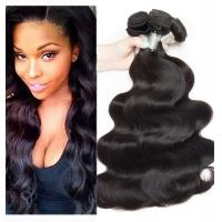 Wholesale Double Wefted Peruvian Virgin Hair Weave Hair Extensions Soft And Silky Body Wave from china suppliers