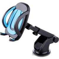 Wholesale One Touch Suction Cup Adjustable Car Phone Holder Dashboard Mount 360 Degree Rotating from china suppliers