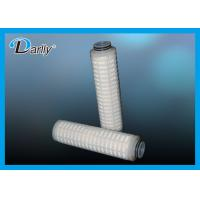 Wholesale micron pp pleated filter cartridge stainless steel filter cartridge from china suppliers