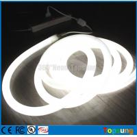 Wholesale 25M spool 360 degree white led neon flexible light 12v for room from china suppliers