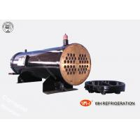 Wholesale Carbon Steel Boat Engine Shell And Tube Condenser , Sea Water Cooled Heat Exchanger from china suppliers