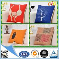 Wholesale Replacement Custom Decorative Cushion Covers / Sofa Seating Cushion Covers with Cotton from china suppliers