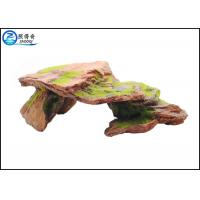 Wholesale Customized Polyresin Fish Aquarium Craft Moss Rock Aquarium Ornaments from china suppliers
