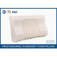 Wholesale Custom Soft Comfort Memory Foam Massage Pillow , Visco Elastic Memory Foam Pillow from china suppliers